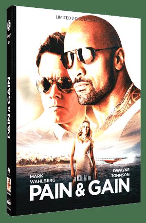 Pain & Gain Mediabook Cover A CE-RE-024-A