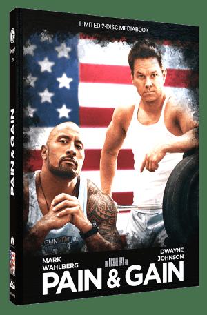 Pain & Gain Mediabook Cover B CE-RE-024-B