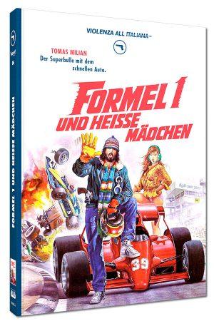 Formel 1 und heiße Mädchen Mediabook Cover A