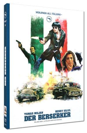 Der Berserker Mediabook Cover B